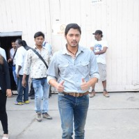 Shreyas Talpade Snapped on the Sets of Great Grand Masti