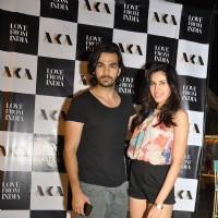 Karan V Grover and Sonalli Sehgall at Launch of AKA Restaurant