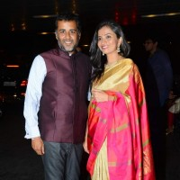 Chetan Bhagat at Masaba Gupta's Wedding Reception
