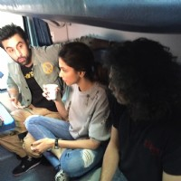 Coffee Time for Ranbir - Deepika During their Train Journey