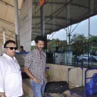 Prabhu Dheva Snapped at Airport