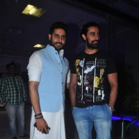 Abhishek Bachchan and Kunal Kapoor at Sajid Khan's Birthday Bash
