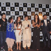 Manish, Farah, Malaika, Jeetendra, Shilpa and Raj Kundra at Launch of Viaan Mobiles