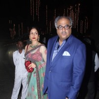 Sridevi and Boney Kapoor Attend Rakesh Maria's Son's Wedding