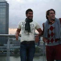 Salman Khan and Ajay Devgan in the movie London Dreams