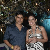 Vikas Bhalla and Maheka Mirpuri at Couture Cabana Event at Asilo