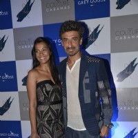 Mugdha Godse and Rahul Dev at Couture Cabana Event at Asilo