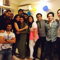 Celebs at Aashka Goradia's surprise Birthday Bash