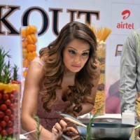 Bipasha Basu at Pasta Party at Delhi Half Marathon