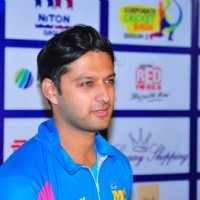 Vatsal Sheth at Mumbai Heroes Match