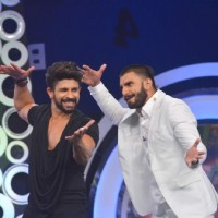 Ranveer Singh and Hussain Kuwajerwala at NDTV Support 'My School Telethon'