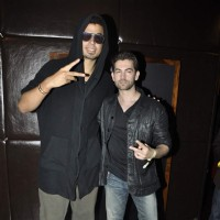 Neil Nitin Mukesh at Afrojack's Bash