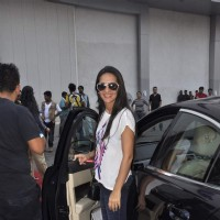 Tara Sharma Snapped at an Event