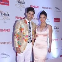 Gurmeet Choudhary and Debina Bonnerjee at Filmfare Glamour and Style Awards