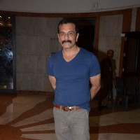 Pavan Malhotra at an Art Exhibition