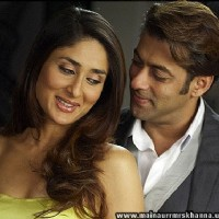 Lovable scene of Salman Khan and Kareena Kapoor