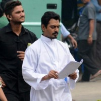 Nawazuddin Siddiqui Shoots for Te3n