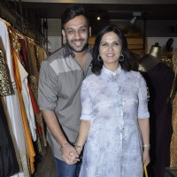 Neeta Lulla and Nikhil Thampi at Launch of New Collection by 'Atosa Fashion'