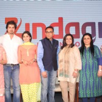 Cast of 'Aadhe Adhoore' at the Show Launch of Zindagi