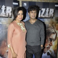 Shreya Ghoshal and Sonu Niigam at Promotions of 'Wazir'