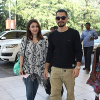 Soha Ali Khan and Kunal Khemu Snapped at Airport