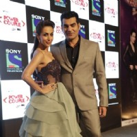 Arbaaz Khan and Malaika Arora Khan at Launch of New Show 'Power Couple'