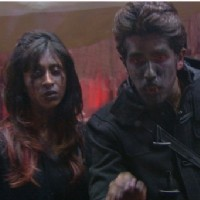 Bigg Boss 9 Nau: Day 59 : Bhoot Bangla Task- Kishwer Merchantt and Suyyash Rai