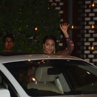 Sonakshi Sinha was snapped at Mukesh and Nita Ambani's Bash