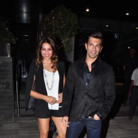 Bipasha Basu and Karan Singh Grover Snapped at Khar