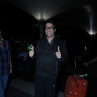 Shiamak Davar Snapped at Airport