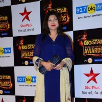Alka Yagnik at Big Star Entertainment Awards