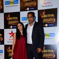 Vishwajeet Pradhan at Big Star Entertainment Awards