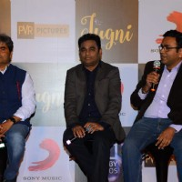 Vishal Bhardwaj and A.R Rahman at Music Launch of Film 'Jugni'