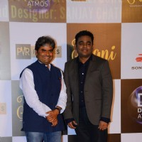 Bollywood Ace Singers A R Rahman and Vishal Bhardwaj at Music Launch of Film 'Jugni'
