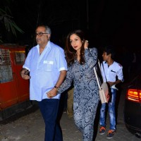 Boney Kapoor and Sridevi at Special Screening of Dilwale