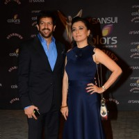 Kabir Khan and Mini Mathur at Stardust Awards