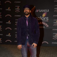 Javed Jaffrey at Stardust Awards