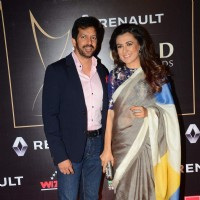 Kabir Khan and Mini Mathur at Guild Awards 2015
