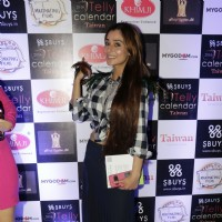 Sara Khan at Launch of Telly Calendar 2016