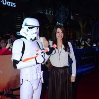 Kalki Koechlin at Premiere of 'Star Wars: The Force Awakens'