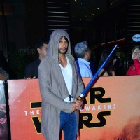 Karanvir Bohra at Premiere of 'Star Wars: The Force Awakens'