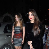 Malaika Arora Khan and Amrita Arora were snapped on Christmas Eve