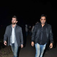 Neil Nitin Mukesh and Mukesh Chhabra at Salman Khan's Birthday Bash