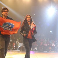 Sonali Bendre at Pro Wrestling