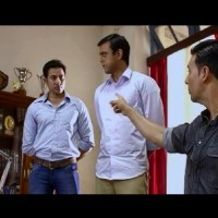 Ranadheer Rai and Akshay Kumar in Holiday