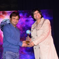 Rajpal Yadav at Mumbai Global Achiever's Award