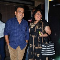 Atul Parchure at Premiere of Marathi Movie 'Natsamrat'