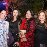 Poonam Dhillon at Anil Kapoor's Star Studded Birthday Bash