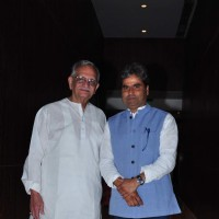 Gulzar and Vishal Bhardwaj at Launch of Film 'A Death in the Gunj'