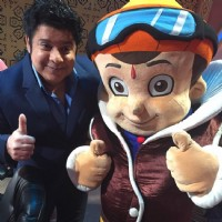 Sajid Khan at Promotions of 'Chhota Bheem' on India's Best Dramebaaz